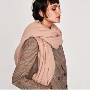 Zara blush scarf NWT
